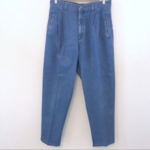 Lee Authentic Pleated Tapered 80's Mom Jeans 14P